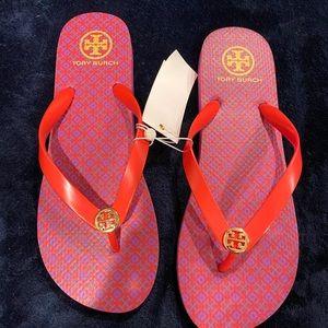 Tory Burch Flip Flops Size 11 NWT